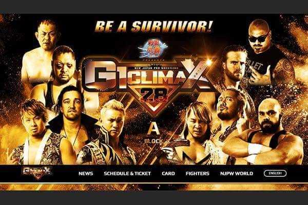 NJPW G1 Climax DAY 1