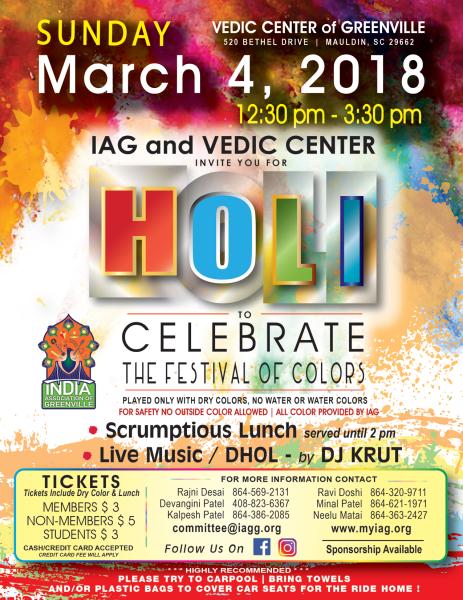 Mar 4, 2018 - Holi