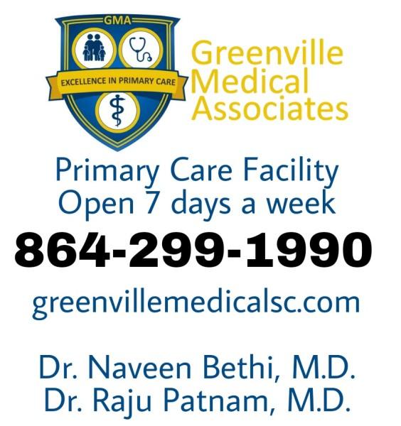 Dr. Bethi Greenville Medical associates