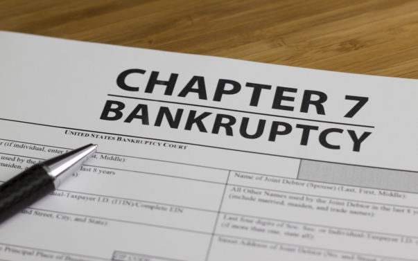 Bankruptcy Chapter 7 Form