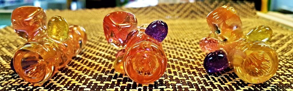 glass art, chillums