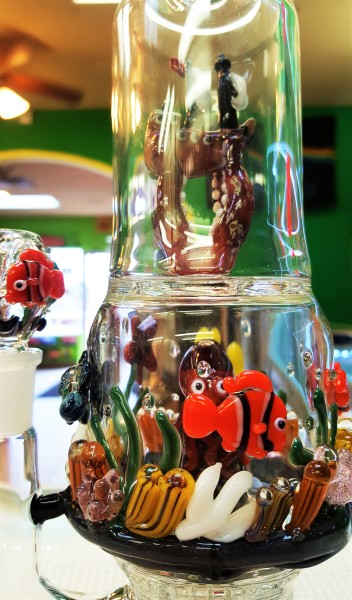 artistic water pipe