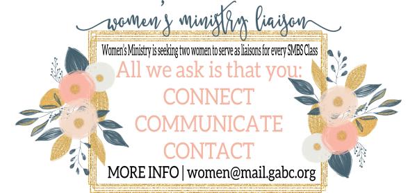 Women's Ministry Liaison