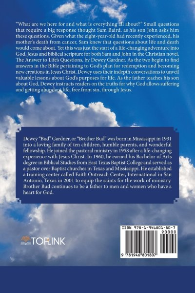 What on Earth Is God Doing for Heavens' Sake (Back Cover)