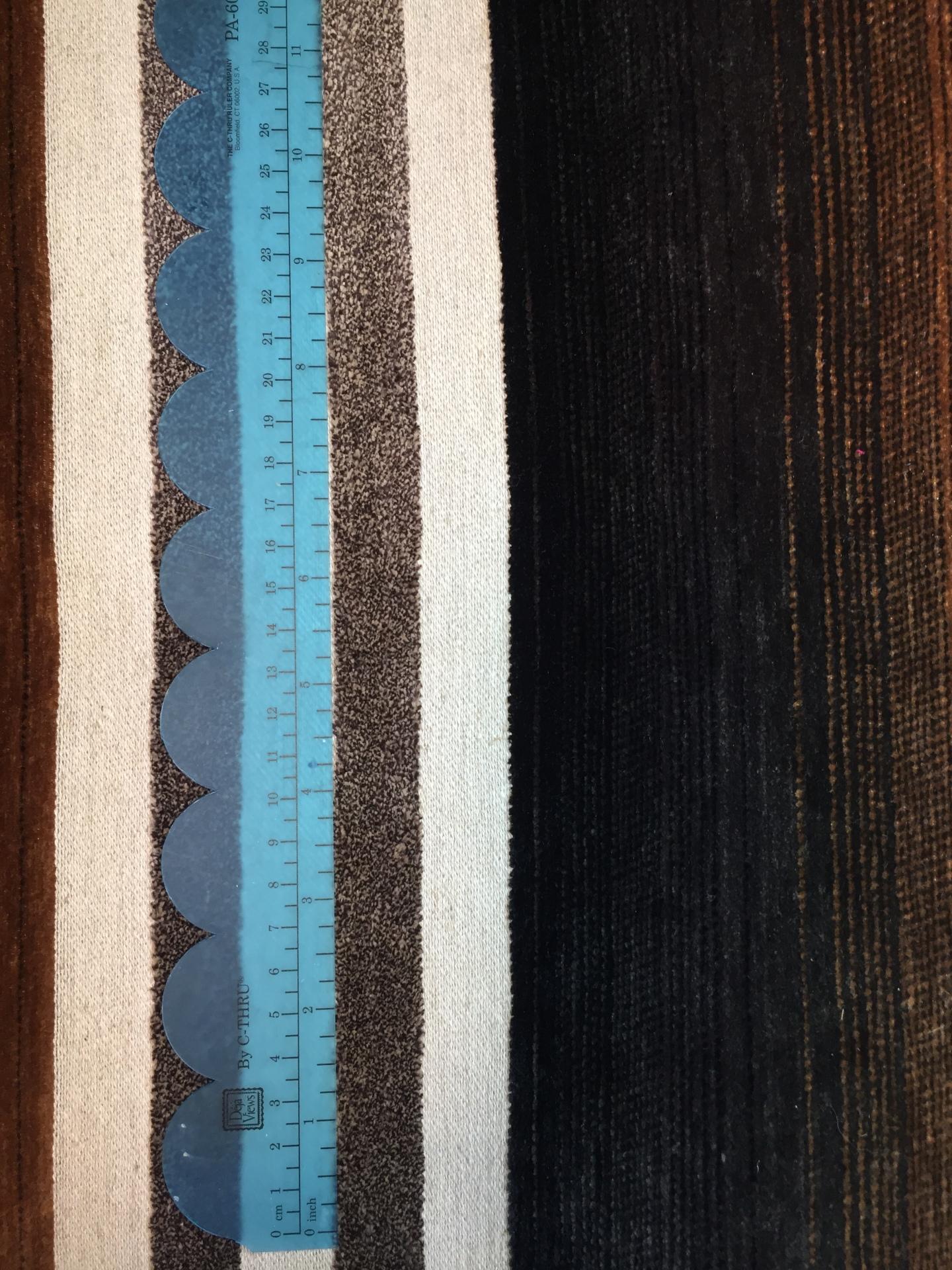 001 Brown Blue Stripe - Mid