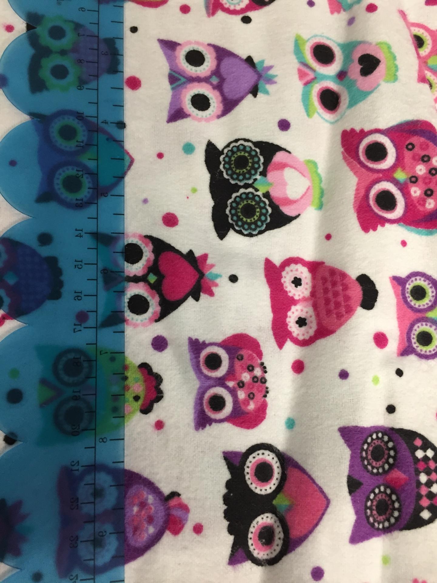 044 Owl Cuties - Flannel