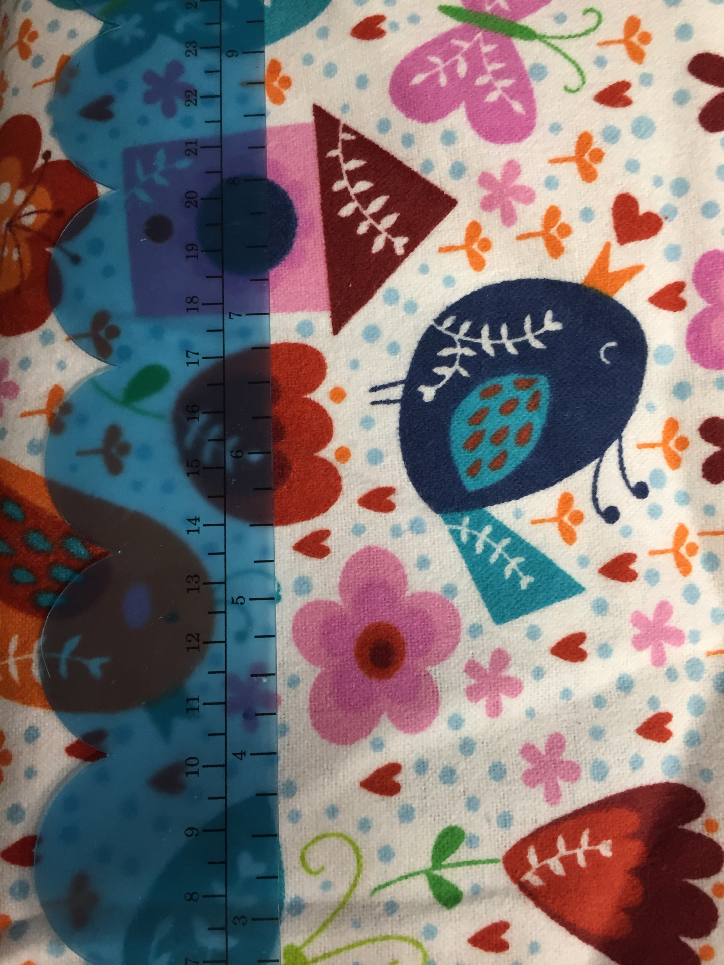 050 Quirky Bird - Flannel