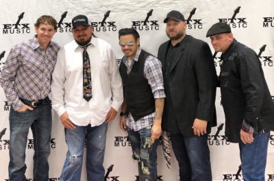 Picture with Curtis Grimes, ETX Music Awards.