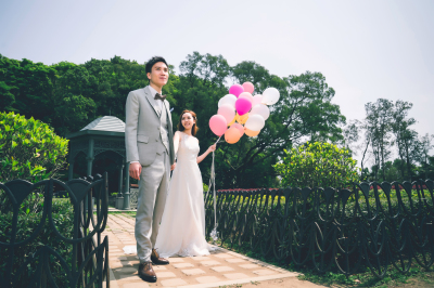 Pre-Wedding @ The Peak