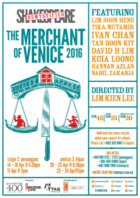 Shakespeare Demystified: The Merchant of Venice 2016