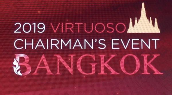 Virtuoso Chairmans Event 2019 in Bangkok