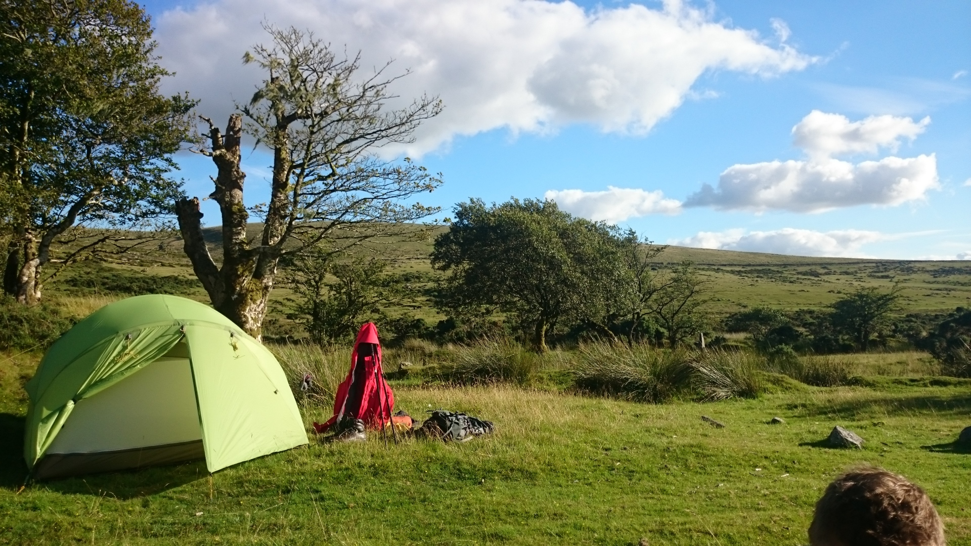 Wild Camping at Swincombe with the MSR Mutha Hubba