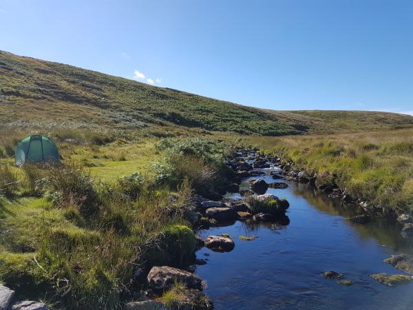 Wild Camping, Dartmoor