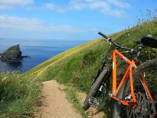 Guided mountain bike trips