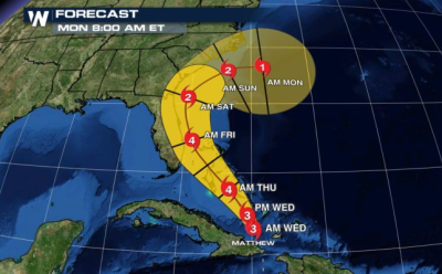 Hurricane cone gets revisions