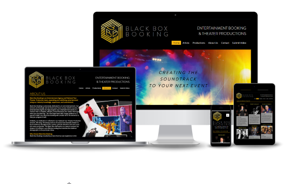 WEBSITE - Black Box Booking Entertainment Managers, Florida