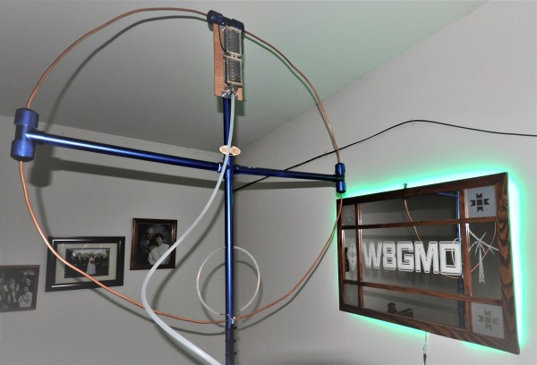 My first Magnetic Loop antenna