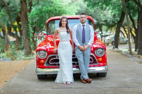 Amanda & Llyodmann's Real Wedding