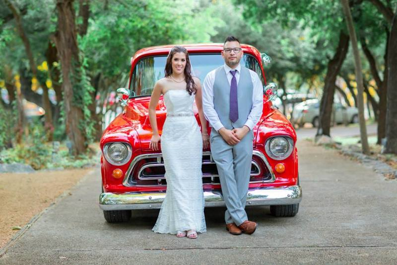 Amanda & Llyodmann's Real Wedding