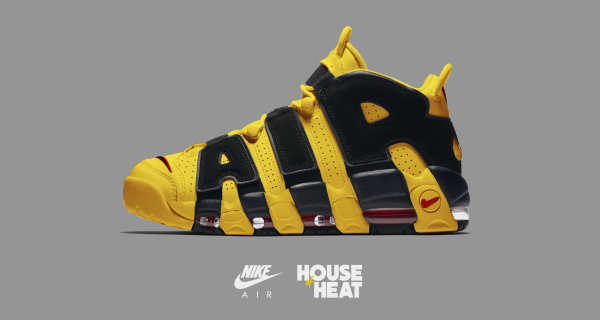 "The Concept Lab : Nike Air More Uptempo ""Kill Bill"""