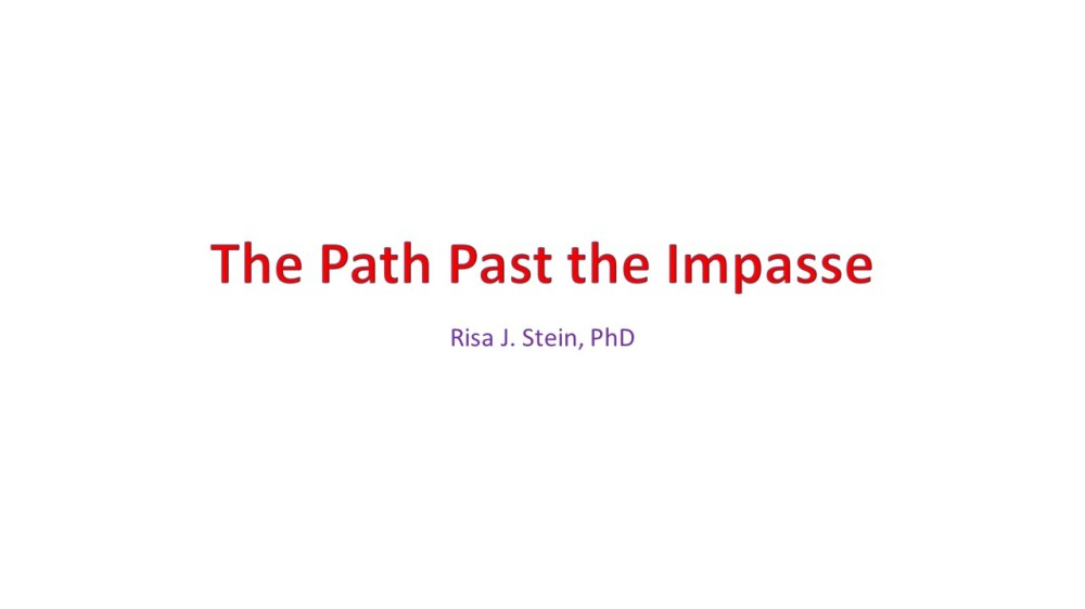 The Path Past the Impasse: Preface