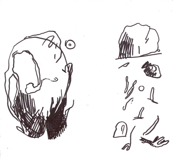 Untitled (SKETCHES FOR COLD SHAPE)
