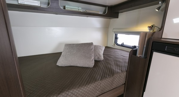 Zefiro 675 Rear Bunk