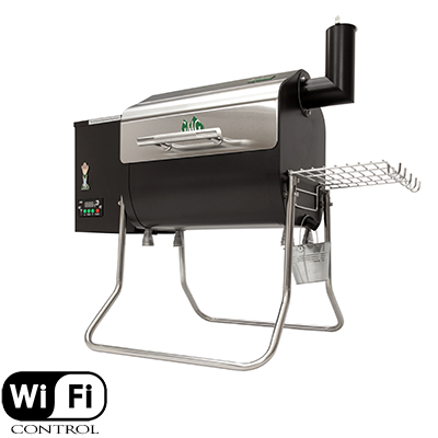 Davy Crockett grill smoker pellet Green Mountain Grills tailgate cooker WiFi