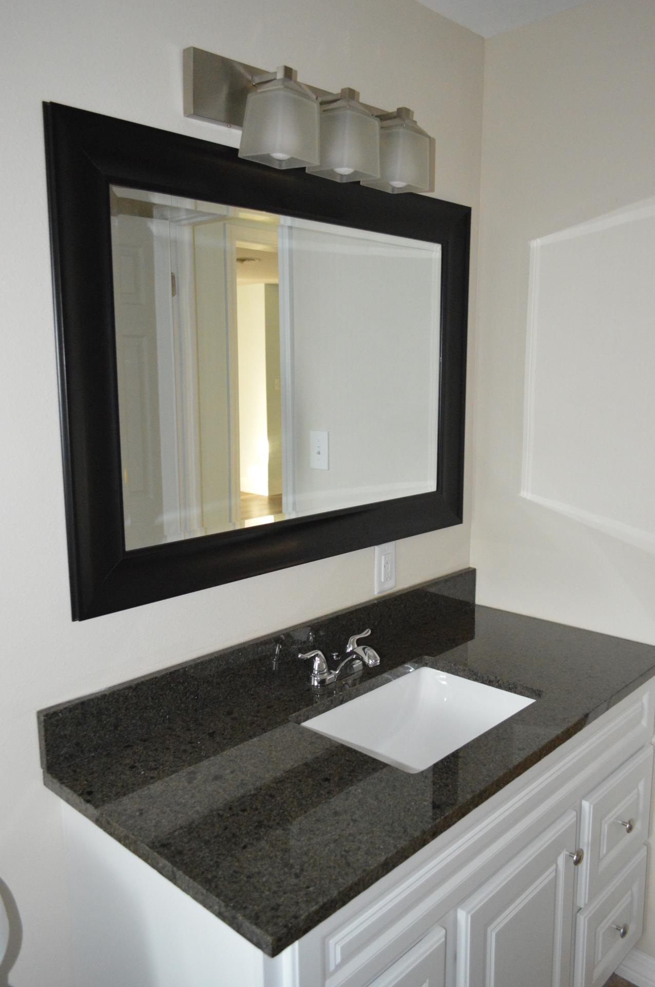 Master Bathroom w/ Sensa Granite Countertops