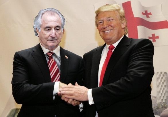 Trump and Bernie Madoff