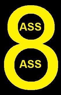 Ass Ass in 8 logo
