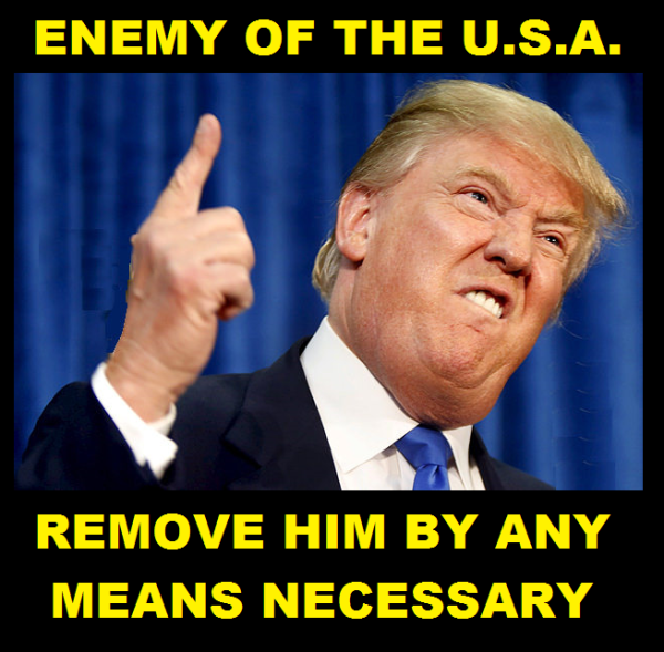 Trump is the Enemy 2