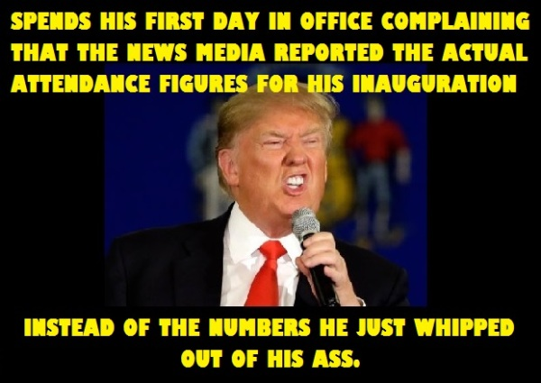Trump whines