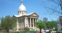 Macoupin County Courthouse exterior dome renovation and courtroom renovation