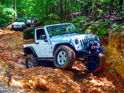 Flexin' in Uwharrie