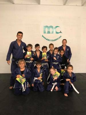 Kids Self Defense Seminar and Belt Promotion