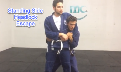 Self Defense Standing Side Headlock Escape Port Saint Lucie FL