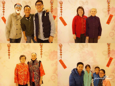 Chinese New Year Photo Booth