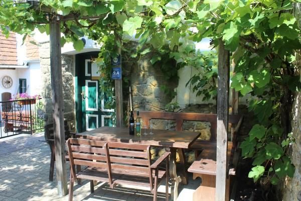 Laube/Vine covered gazebo