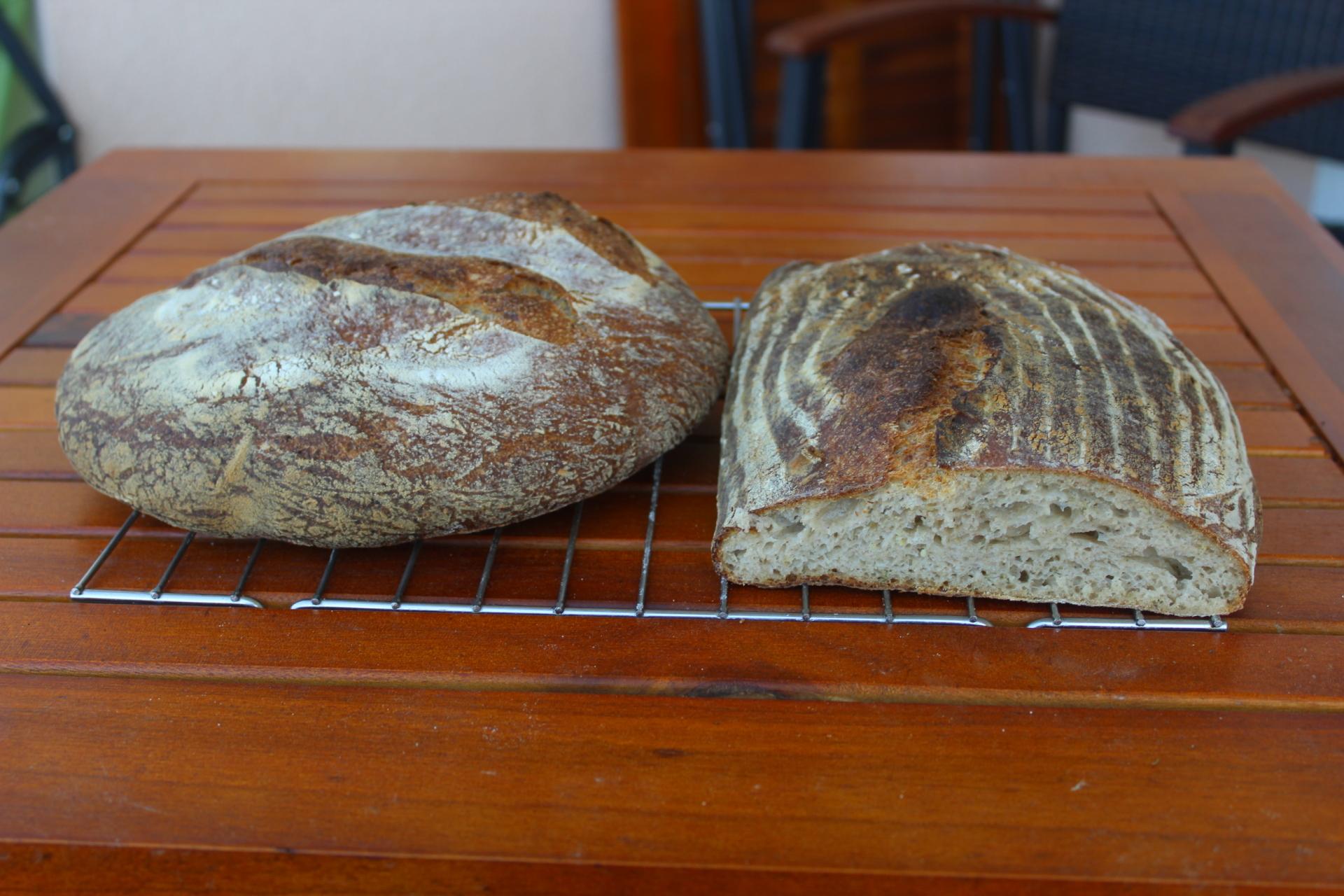 Sauerteig Kartoffel-Rosmarin Brot