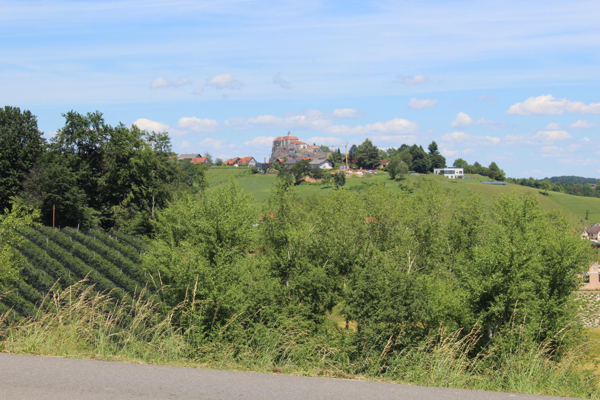 Blick auf die Riegersburg/Riegersburg castle