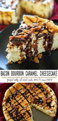 Bacon Bourbon Caramel Cheesecake PLEASE!!!