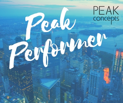 April's Peak Performer!