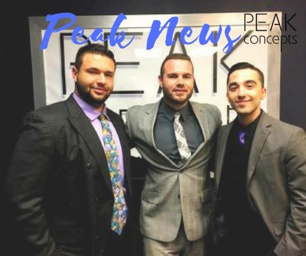 Peak's Managing Director Ryan signs off on Steven and Julian.