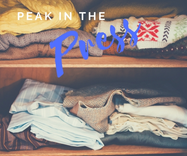 PRESS RELEASE: Spring cleaning-out our closets for a cause!