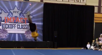 Level 1-5 power tumble for cheer