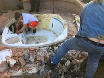 Hot Tub and Spa Removal