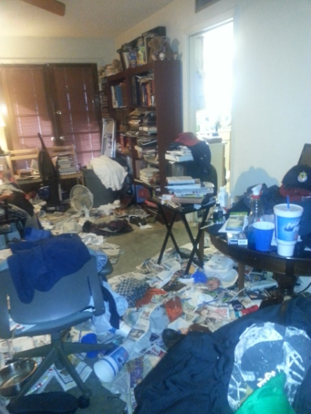 Hoarding Clean up