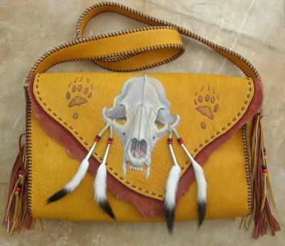 Bear Skull Bag