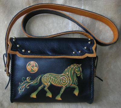 Celtic Horse Bag